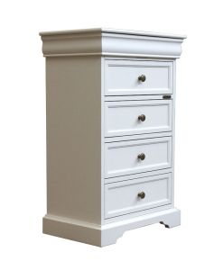 chest of 5 drawers, wooden nightstand, wooden chest of drawers, classic style chest of drawers