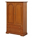 cabinet, wooden cabinet, wooden furniture, cabinet in classic style, 2-door cabinet, multifunctional cabinet