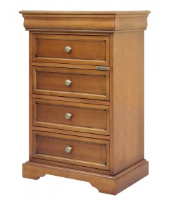 chest of 5 drawers, wooden bed sidetable, nightstand 5 drawers, classi style chest of drawers, Arteferretto
