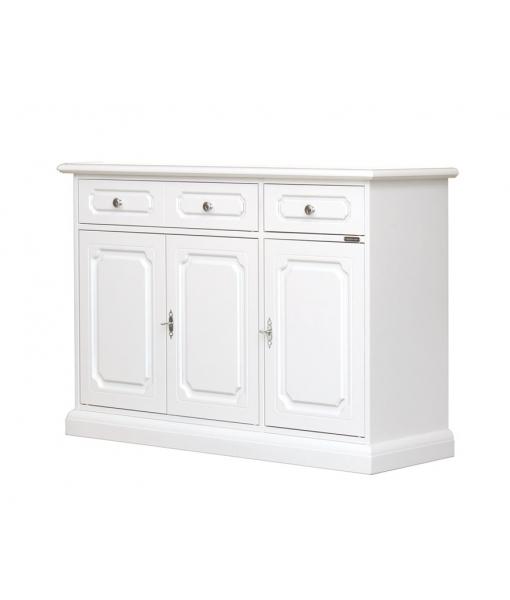 Dining room sideboard in wood with 3 doors and 2 drawers. SKu 3176-av