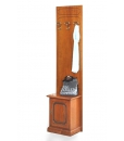 wooden entryway furniture set, hallway furniture, hat and coat rack, small cabinet, entryway cabinet