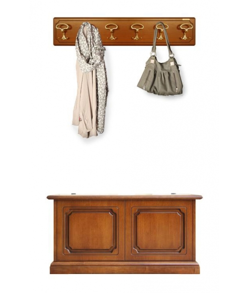 Entryway set in wood, SKU: 35-6P