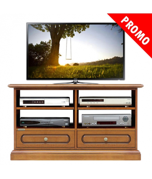 Classic tv stand with shelves. Product code: 3800-C-promo
