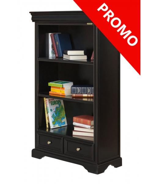 Black bookcase 381-N