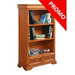 wooden bookcase, bookcase with drawer