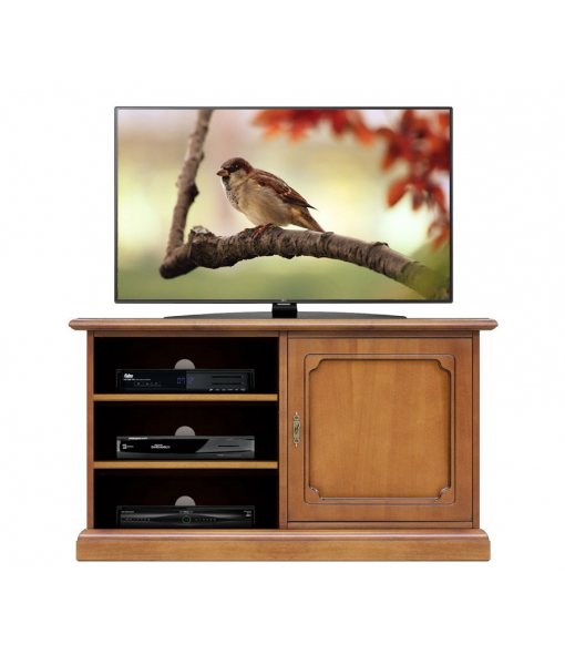 tv stand unit with door and shelves 3814-L