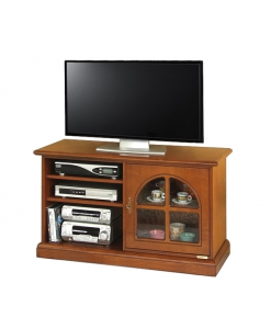 wooden tv stand, tv cabinet, living room cabinet, small tv stand, tv unit in wood, classic style tv unit, Arteferretto furniture