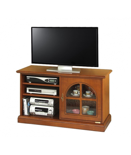 Wooden tv stand 1 door. Sku  3815