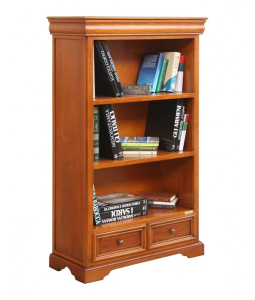 Wooden bookcase in Louis Philippe style. Sku 381