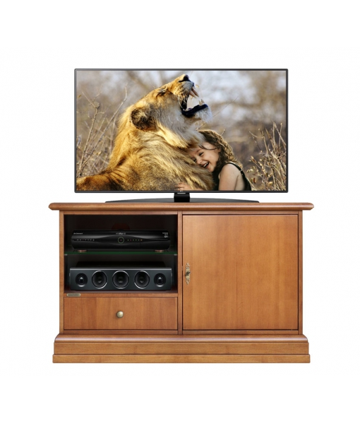 Small tv cabinet in wood. Sku 3820-AP