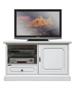 wooden TV unit, wooden TV cabinet, white Tv stand, Tv cabinet in wood, Living room unit in white colour, Arteferretto TV unit, Arteferretto cabinet, Arteferretto furniture