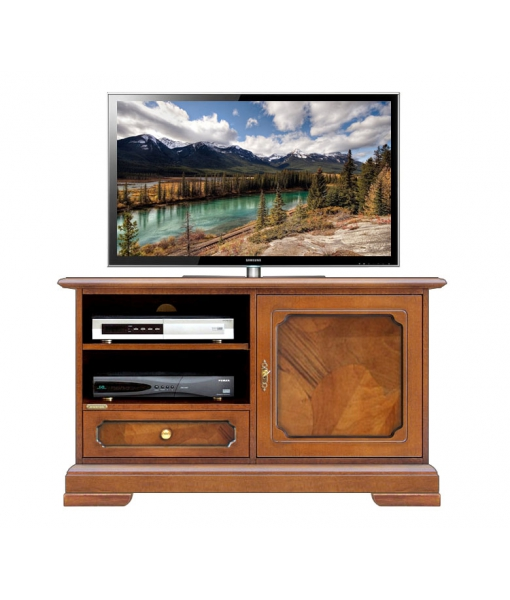 Briar-root tv cabinet for living room. Sku 3820-AZS