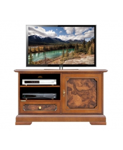 briar root tv cabinet, wooden tv cabinet, solid wood, tv stand, living room furniture, Arteferretto