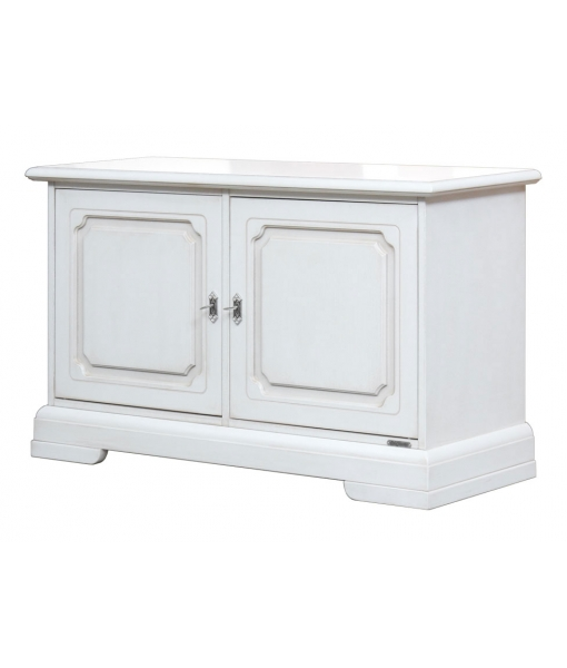 Small wooden cabinet with doors. Sku. 3830-AVZ