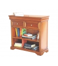 louis philippe bookcase, small bookcase, wooden bookcase, furniture for living room