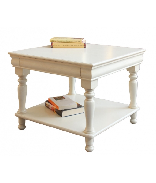 Lacquer square coffee table in Louis Philippe style. sku. 395-AV