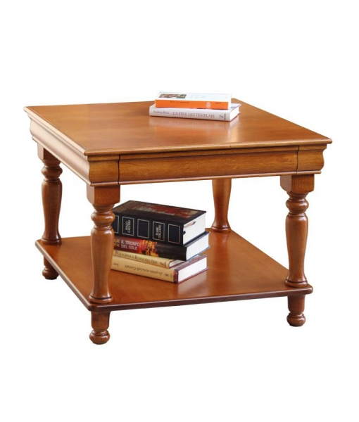 Squared coffee table, Louis Philippe style. sku. 395