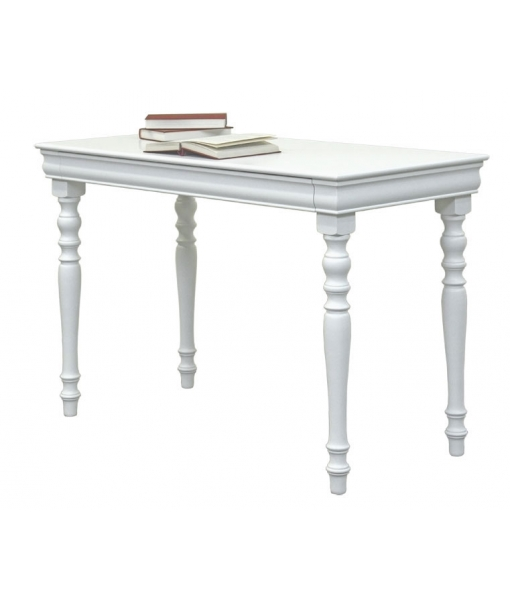 Louis Philippe lacquered desk with turned legs. Sku. 397-AV