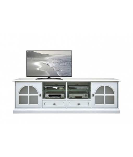 Entertainment TV unit in wood. Sku 4010-bb