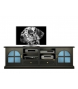 2 meters tv unit, tv cabinet, living room tv cabinet, wood tv stand, black tv cabinet, living room furniture, living room cabinet