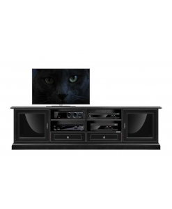 Tv cabinet, tv black cabinet, wood cabinet, furniture for living room
