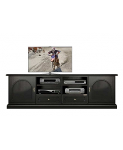 Black tv cabinet, black tv unit