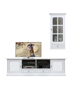 living room set, tv stand, wooden tv cabinet, white tv stand, wall unit, display cabinet, wall display cabiner, classic furniture,