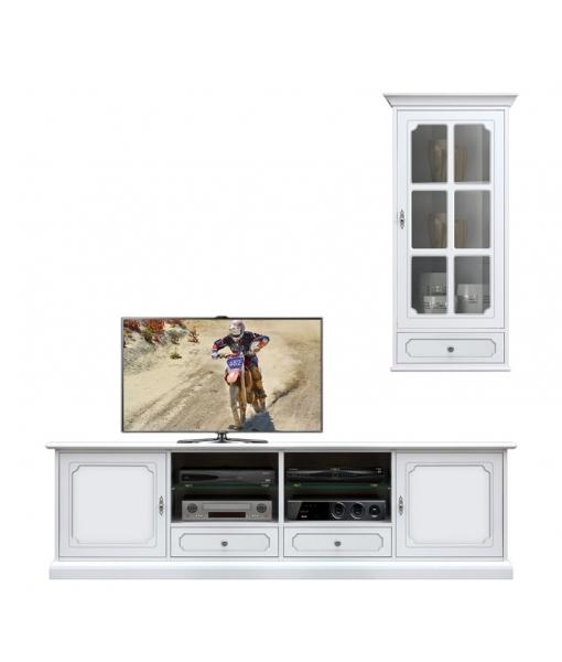 Living room set, tv stand wall unit. Sku 4012-SPAV