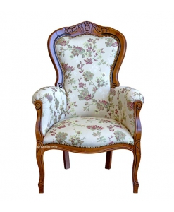 Classic armchair with carving