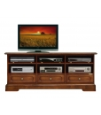 tv stand, tv stand with drawers, tv cabinet with compartments, wooden tv stand, wooden furniture, living room furniture