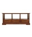 tv stand, tv stand with drawers, tv cabinet with compartments, wooden furniture, living room furniture