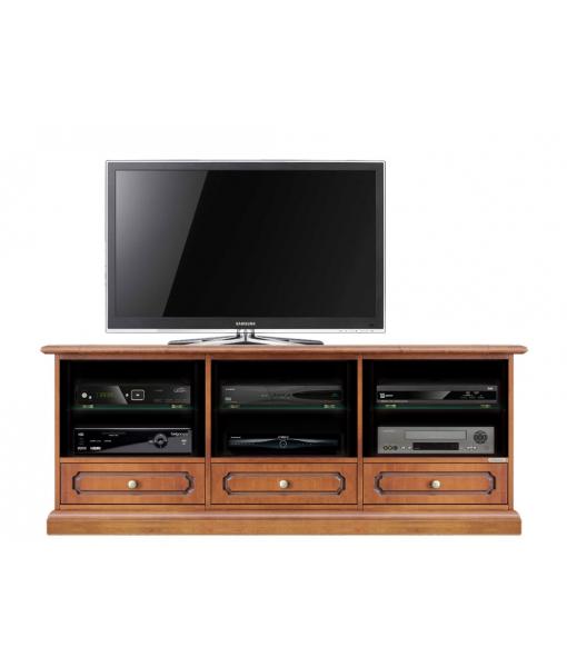 Tv cabinet in wood. Sku 4020-s