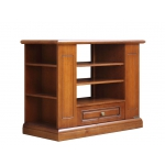 Functional tv unit, woodentv unit, tv unit with shelves, tv unit for living room, classic tv unit,