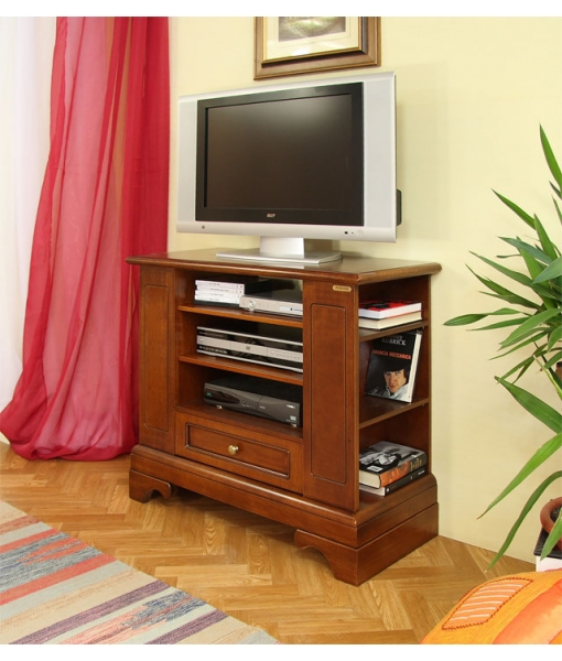 Essential tv cabinet with shelves. Product code: 4035