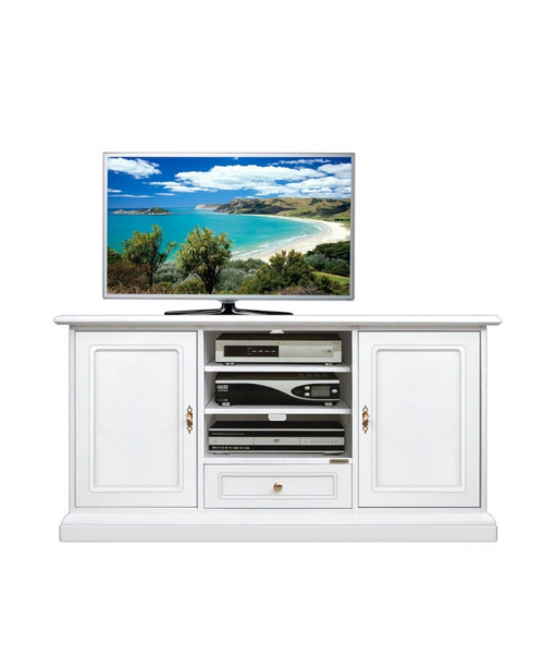 Living room entertainment TV cabinet in wood. Sku 4040-qpav