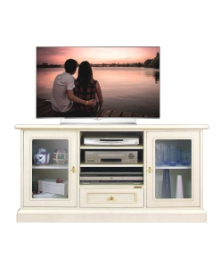 entertainment TV unit, wooden TV unit, living room Tv unit, Tv stand, Arteferretto furniture, Arteferretto Tv stand, Arteferretto design, Italian design, Italian furniture, Living room furniture, wooden Tv stand, lacquered Tv cabinet, classic Tv unit, wooden Tv unit, entertainment unit