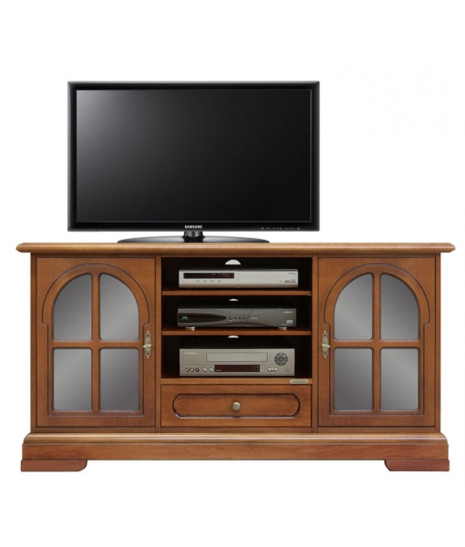 TV sideboard in wood for living room. Sku 4040-TG-plus