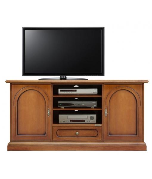2 door tv cabinet in wood. sku. 4040-TPZ