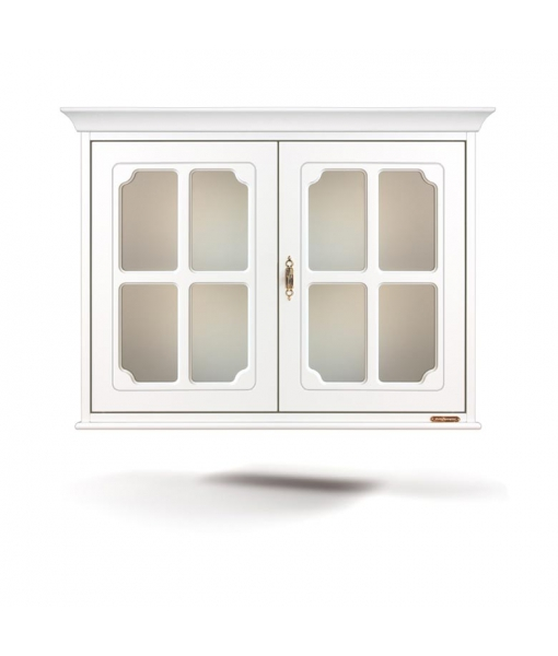 Display cabinet, wall cabinet with glass door, wall cabinet, wooden wall cabinet, kitchen furniture, living room furniture