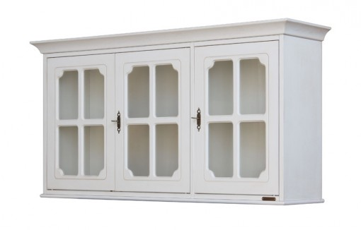 Wall display cabinet with glass door. Sku 4053-SG