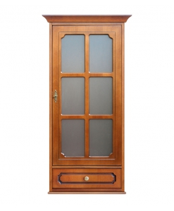 wall display cabinet, wooden wall unit, wall unit, display cabinet, living room unit, dining roon cabinet, kitchen cabinet, glass door wall unit