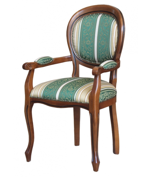 Dining chair with armrests. Sku 431-C