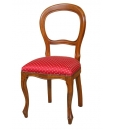 wooden chair, classic chair, chair in Louis Philippe style, chair, chair for kitchen,