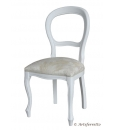 white chair, chair, chair for living room, wooden chair