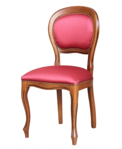 Louis Philippe classic chair, wooden chair, upholstered chair, dining chair, classic chair,