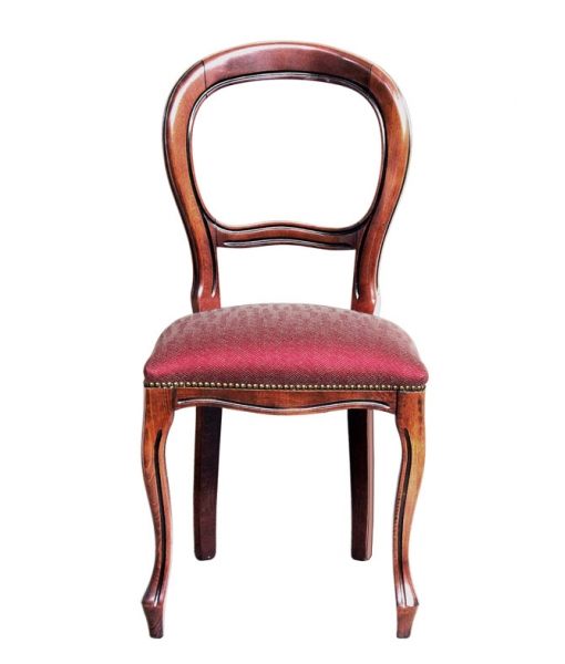 chair in Louis Philippe style, wooden chair, classic chair,