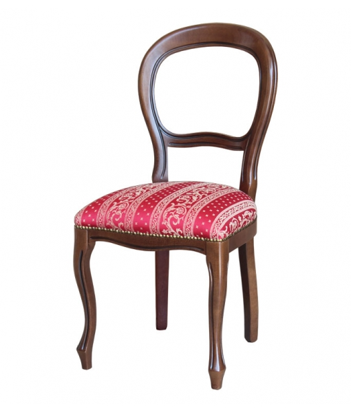 Classic chair in solid beech wood. Sku 434