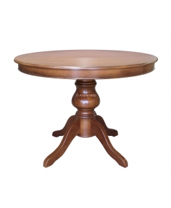 round extendable table, wooden table, kitchen table, dining table