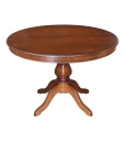 round extendable table, round table, classic round table, table for living room,