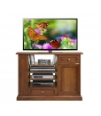 Multifunctional tv unit, tv stand, wooden tv cabinet, living room cabinet, tv stand with shelves, adjustable in height shelves, classic tv unit, classic furniture, living room furniture, classic style